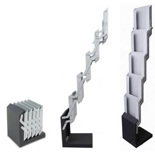 Metal Brochure Stand