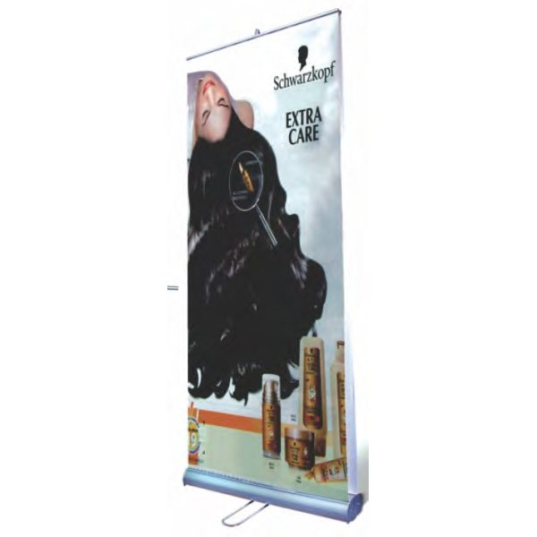 Roll Up Banner Stand Double Sided