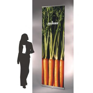 Tall Roll Up Banner