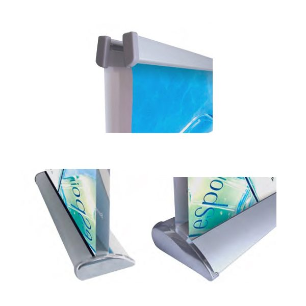 Double Sided Roll Up Stand