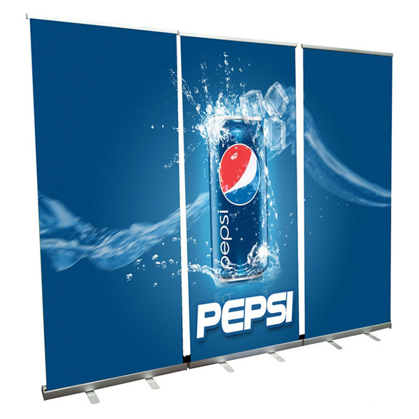 Roll Up Banner Wall