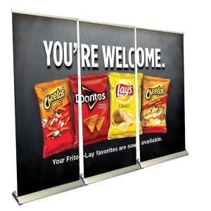 Premium Roll Up Banner Wall