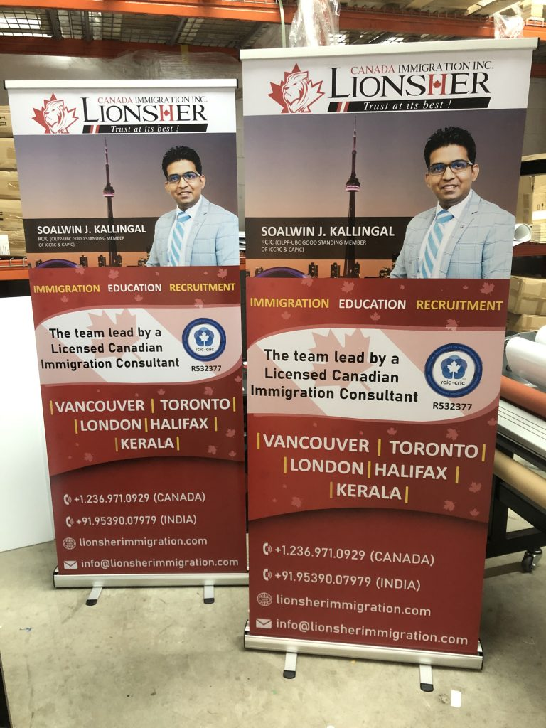Retractable Banner-Immigration